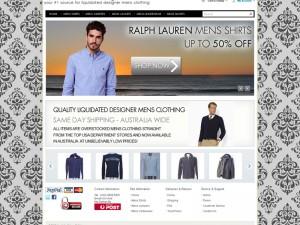Liquidated Mens Clothing