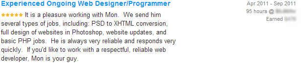 Experienced Ongoing Web Designer Programmer