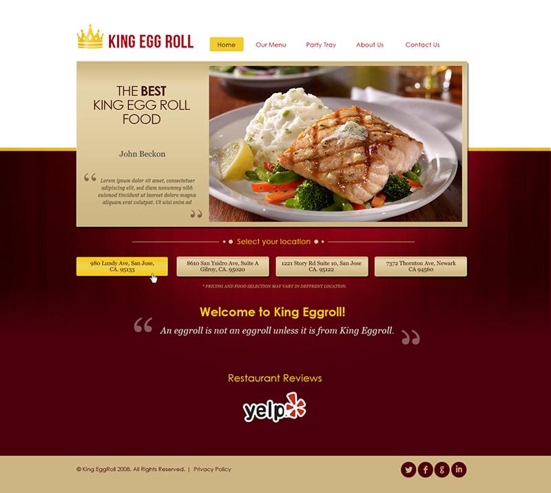 King Egg Roll